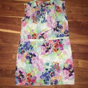 A New York pretty floral dress size medium